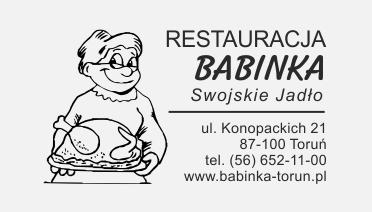 pieczątki reklamowej swojej restauracji.