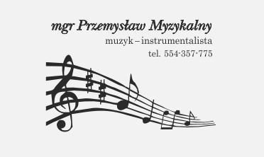 pieczątki instrumentalisty muzyka,