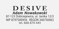 w pieczątce klasycznej, umieszczono nowoczesny font.