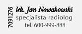 specjalisty radiologa oraz