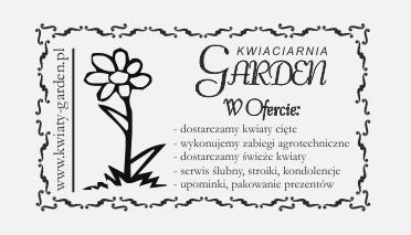 Dla kwiaciarni stempel ofertowy